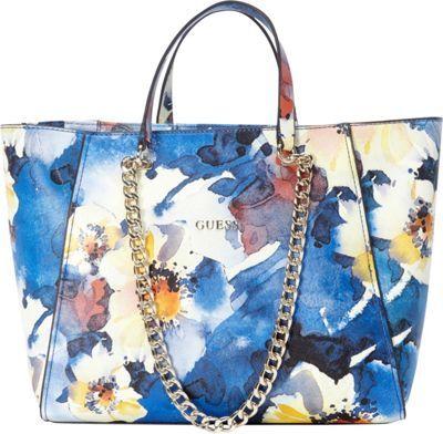 yves laurent handbags - GUESS Nikki Chain Tote Cobalt Multi - via eBags.com! | Fabulous ...