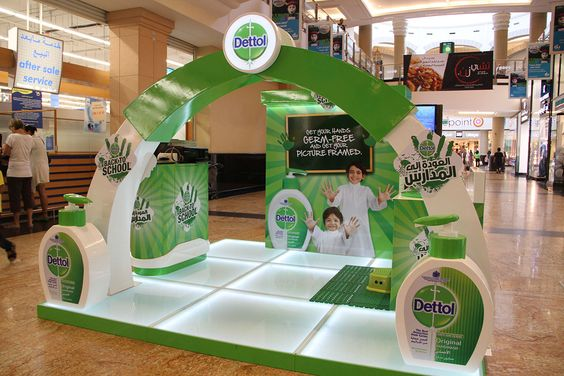 Dettol Activations on Behance