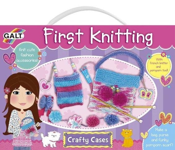 Galt Toys Inc First Knitting