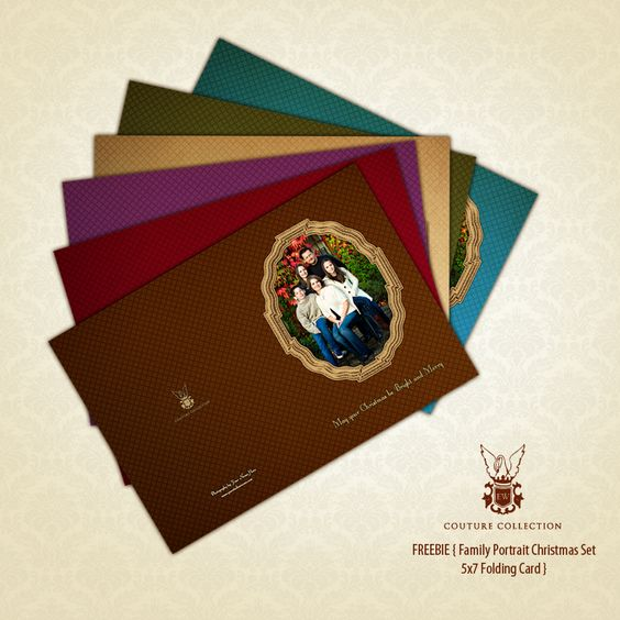 FREE Holiday Cards & Referral Cards by EW Couture Collection