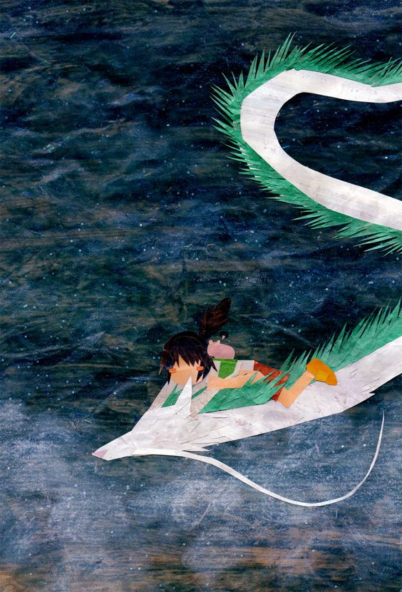 Ghibli Blog - Studio Ghibli, Animation and the Movies: Studio Ghibli Paper Collage Art