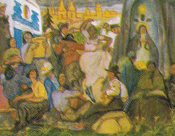 Indigenismo - José Sabogal - Amancaes