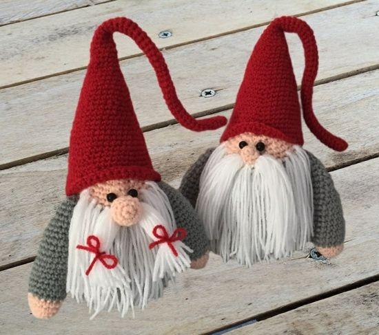 20 Free Amigurumi Gnome Toy Softies Crochet Patterns | Crochet ornament  patterns, Christmas crochet patterns, Holiday crochet | 487x550
