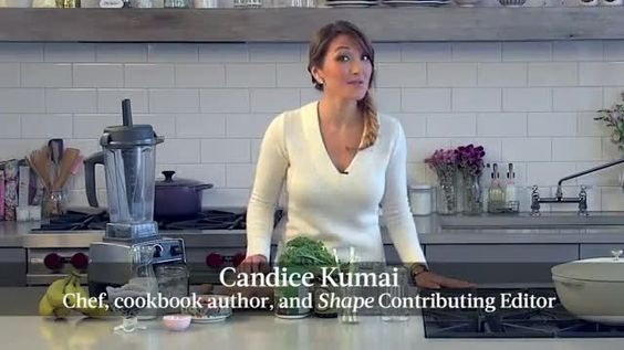 Chef and SHAPE contributing editor Candice Kumai shows you how to make a green smoothie with ingredients that will restore and renew after a night out celebrating or a few days of indulging.