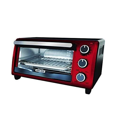 Black Decker To1303rb 4 Slice Toaster Oven Red Toaster Oven
