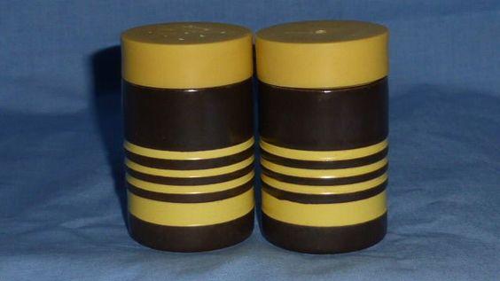 Vintage Hornsea, Cruet, Salt & Pepper Pots, 1960s