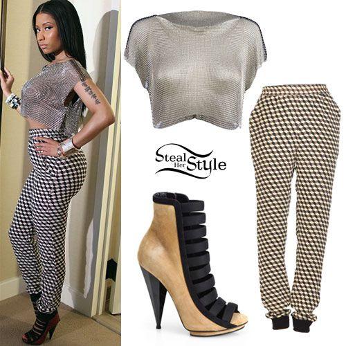 Matchless nicki minaj casual outfits consider