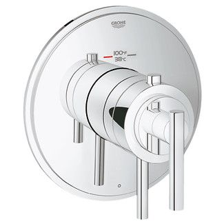 <strong>Grohe</strong> GrohFlex Timeless Single Function Thermostatic Trim with Control Module $276 + rough