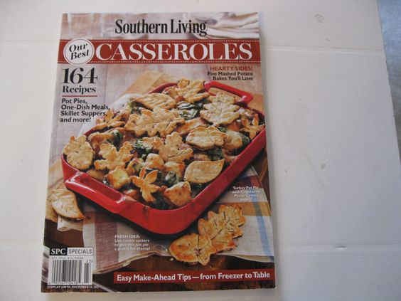 Southern Living Our Best 164 Casseroles.