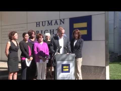 Jun 12, 2016 Today, HRC President Chad Griffin was among civil rights leaders who spoke outside the HRC's headquarters in Washington, D.C., to respond to the horrific tragedy at a Florida LGBTQ nightclub.