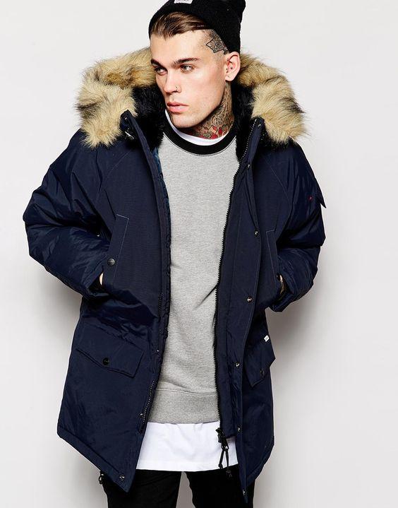 Carhartt parka jacket