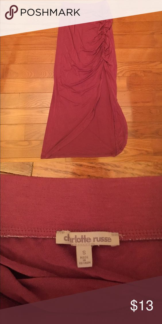 Charlotte Russe Maxi Skirt Never worn Charlotte Russe Skirts Maxi
