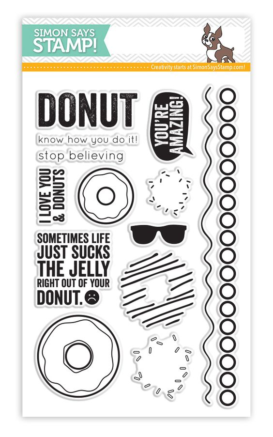 Image result for simon says stamp I love donuts