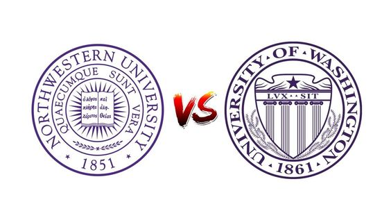 COMPARE NORTHWESTERN UNIVERSITY vs. UNIVERSITY OF WASHINGTON