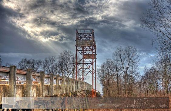 Lamb-Fish Bridge---Tallahatchie County, Mississippi