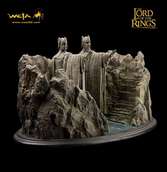 The o 39 jays lord and lord of the rings on pinterest - Argonath bookends ...