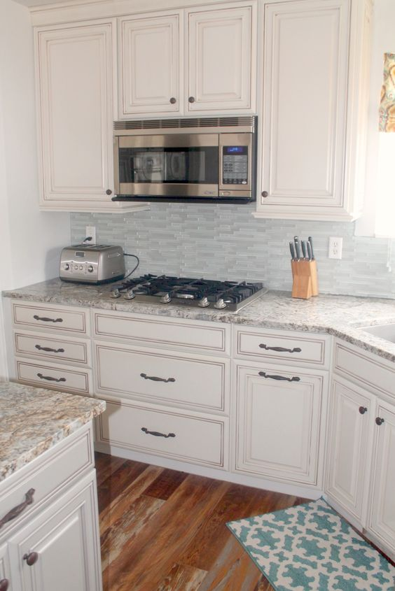 White #cabinetry is an excellent option for creating a #kitchen ...