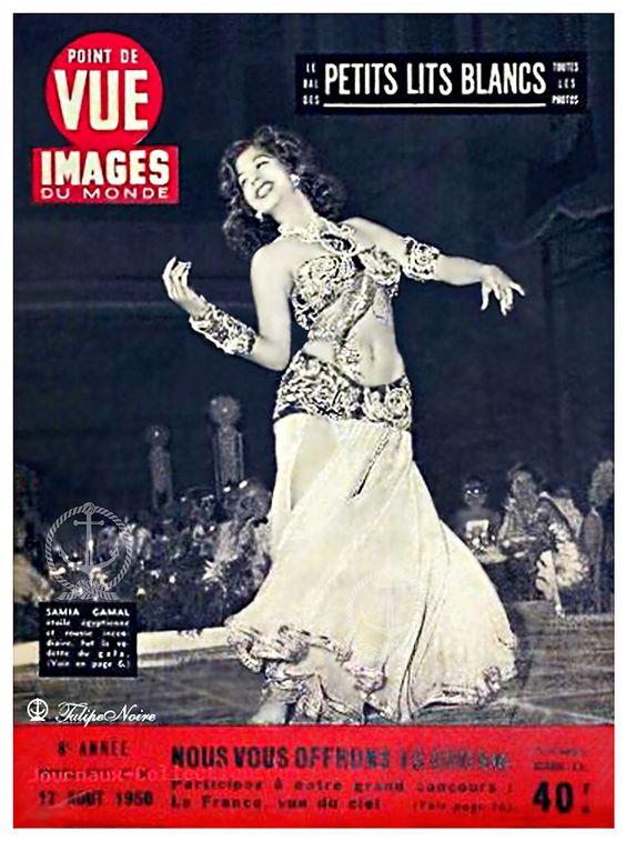 Samia Gamal, Princesse Egyptienne Dans Point de Vue - Images du Monde - Paris,  Aout 12, 1950: