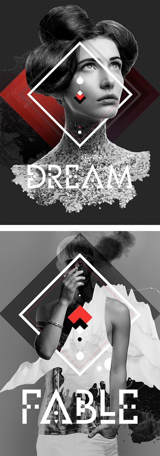 Awesome Posters by Anthony Neil Dart | Inspiration Grid | Design Inspiration #Graphic Design