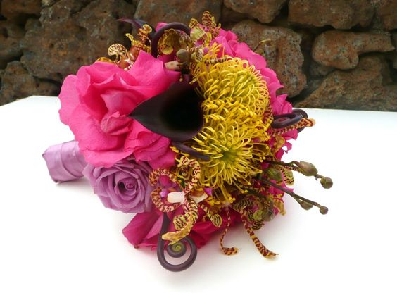 Google Image Result for http://www.mauiweddingflorist.com/wp-content/uploads/2011/03/pincushion_fiddlehead_rose_orchid_Maui_wedding_bouquet.jpg