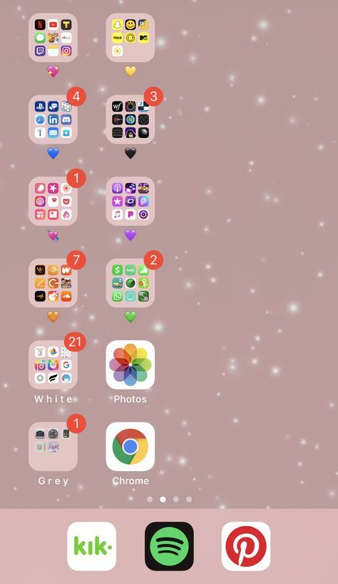Home Screen Layout Hack Iphone Iphone App Aplikasi