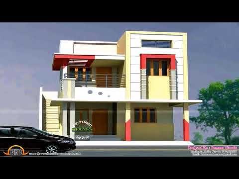 Best Single Story Home Elevations Youtube Kerala House Design Duplex House Design Modern House Design