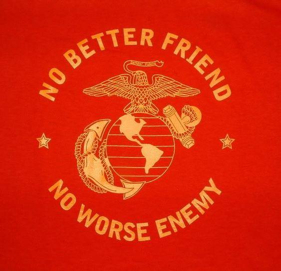 USMC - Marines - Devil Dogs - Leathernecks - Grunts - Jarheads - Semper Fi - Marine Love - Oorah - Devli Dog Fever