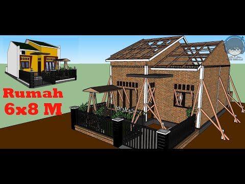 gambar rumah minimalis ukuran 6x8 meter - download wallpaper