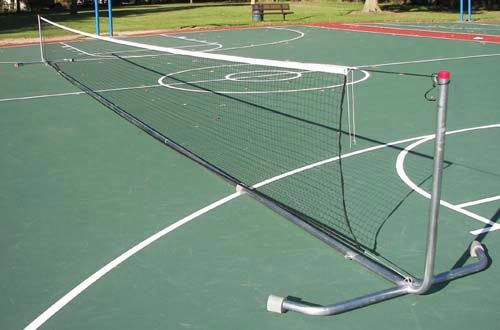 Athletics Tennis Equipment Portable Tennis Net Systems Ra046m 42 Feet Heavy Duty Portable Tennis Posts With Net Tennis Tennis Equipment Tennis Nets