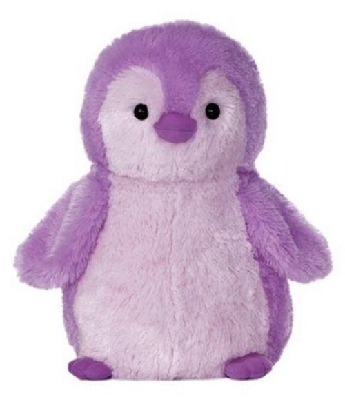 "12""+Destination+Nation+Purple+Penguin+Plush+Stuffed+Animal+Toy+-+New+#Aurora"