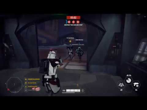 Slippery Feet Star Wars Battlefront 2 Clip Youtube With