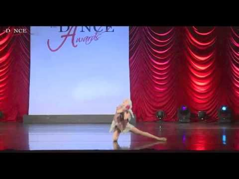Maddie Ziegler -The Dance Awards 2015 NYC - Junior Solo - All God's Creatures - YouTube