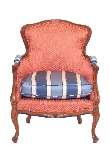 French Bergere Arm Chair