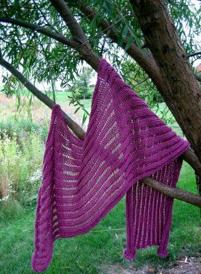 "...Knitting Up A Storm: The ""Dummy Clap"" Shawl (KUAS original pattern)"