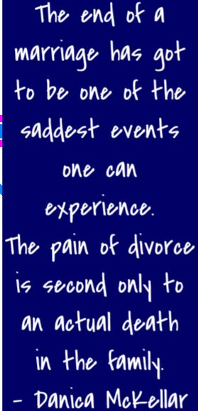 How to deal with depression after divorce