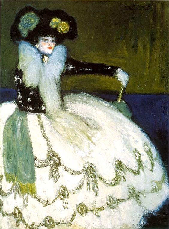 Femme en bleu, 1901
