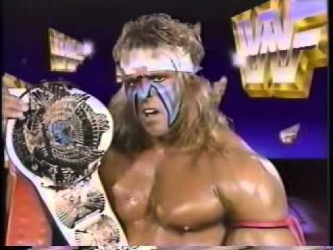 Ultimate Warrior Promo on Macho King Randy Savage (10-06-1990)