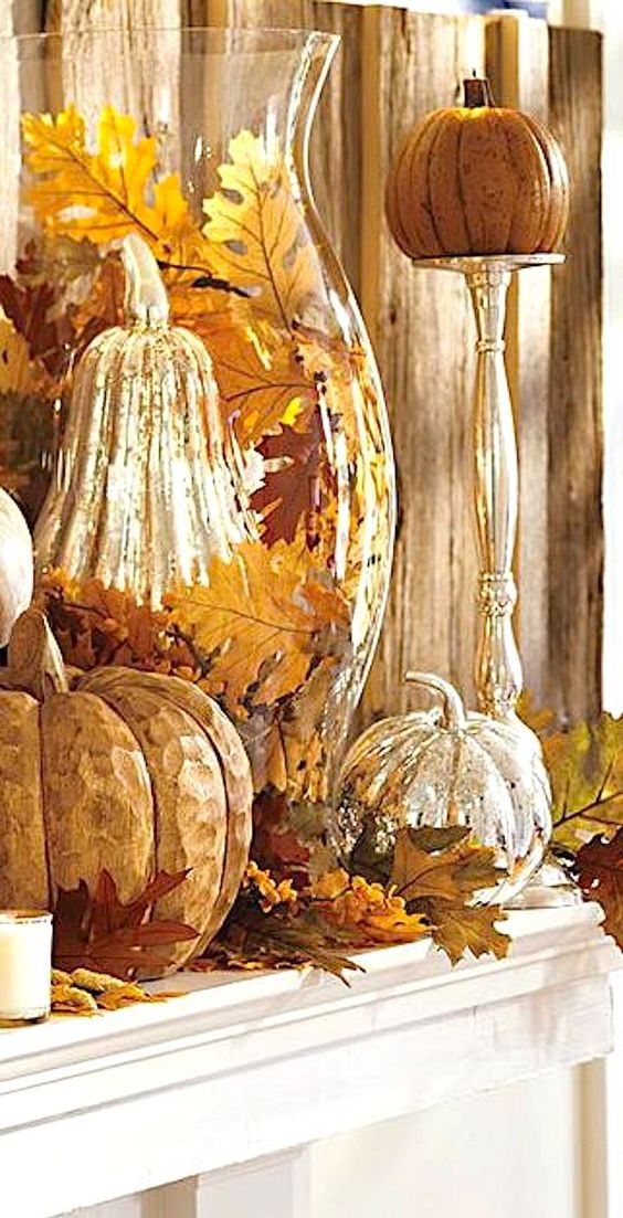 The Event Group, Pittsburgh event planning, Thanksgiving, elegant Thanksgiving decorations, mantles, fireplace decorations: