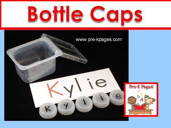 Creative ideas for using bottle caps in your preschool for Creative ideas with bottle caps