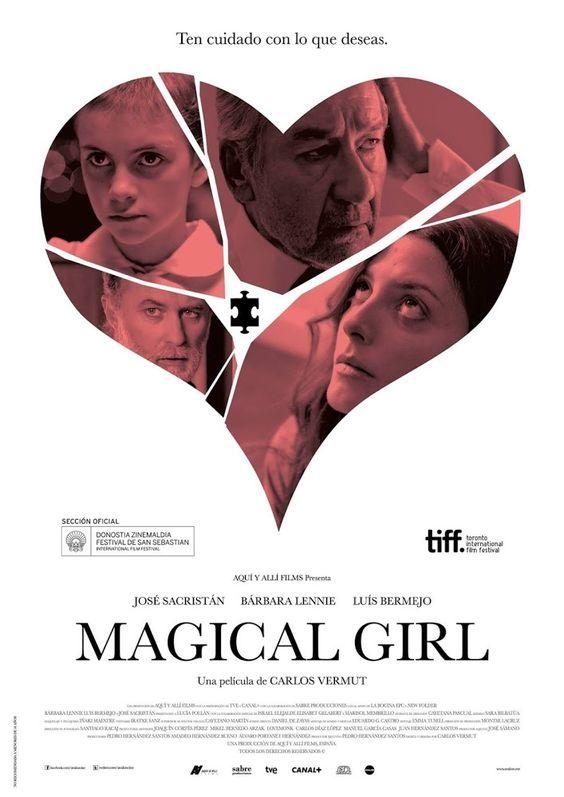 Magical Girl (2014)   Tragedias contagiosas... Alicia es una niña con cáncer que antes de morir le gustaría vestirse como su personaje de...