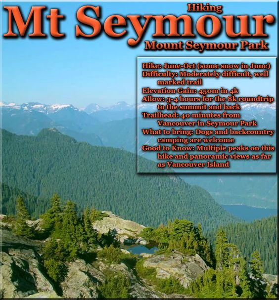 Mount Seymour - dogs and backcountry camping allowed