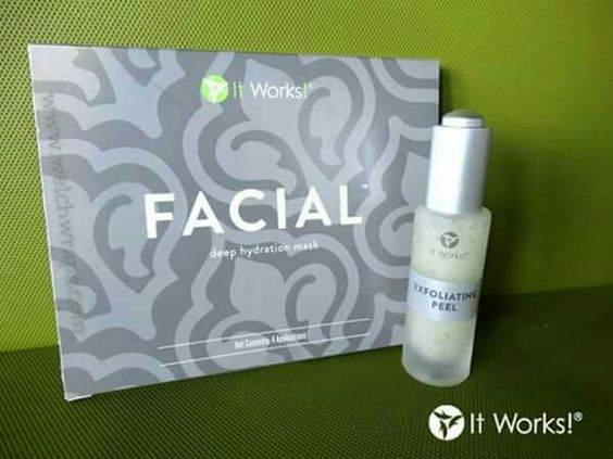 Exfoliating Peel + Facial = the ultimate at-home spa experience! #skincare