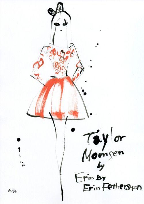Taylor Momsen:Erin By Erin Fetherston Resort, miyuki ohashi