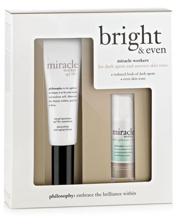 philosophy bright & even skincare value set