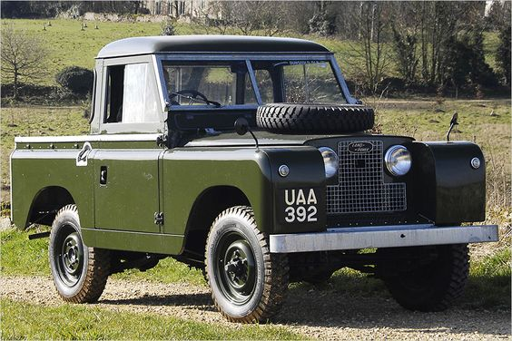 Land Rover Series II (1958-1961)