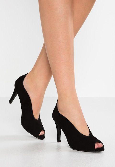 Peeptoe heels - black @ Zalando.co.uk