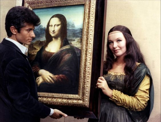 Pin by Lisa Gherardini ♾ on ** Gioconda | Mona lisa, George chakiris,  Portrait photo