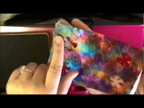 Watch in HD Tie dyed grunge flowers using baby wipes. Tutorial for the baby wipes can be seen here: http://www.youtube.com/watch?v=w2QTQeVhcpg=my_favorites=FLwQtlrvxQe8-z44akjnEESA Thanks Diane for allowing me to use your technique!! Thanks for watching =0)