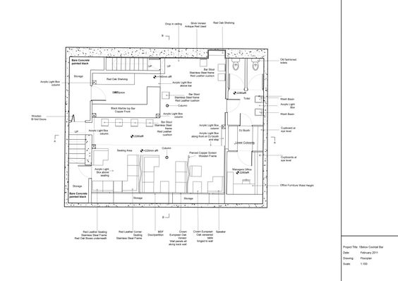 Cocktail Bar Floor Plan - Google Search