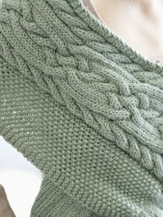 Celtic Cables Wrap | Yarn | Free Knitting Patterns | Crochet Patterns | Yarnspirations